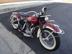 1946 Harley Knucklehead | MotoFotoStudio Harley Knucklehead, Bobber, Motorcycles, Bike, Vehicles, Bicycle, Rolling Stock, Vehicle, Motorcycle