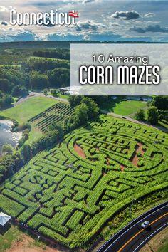 Are you ready to get lost this fall? Check out these corn mazes at farms all across Connecticut! Vacation Places, Vacation Spots, Places To Travel, Places To See, Travel Destinations, Sheer Number, New England Fall, Corn Maze, United States Travel