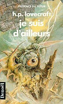 Serge Bihannic - illustration - Lovecraft - éd. Denoël
