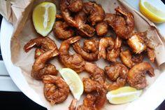 Beer-Battered Cajun Shrimp