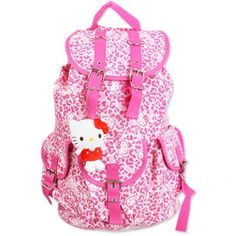 ad5173cd0401 Curated by Us. Inspired by You. For The Cute Souls. Hello Kitty  BackpacksHello Kitty KitchenLeopard PatternSanrio Hello KittyDrawstring  BackpackGirly ...