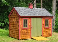 When I become a full time writer,  I want buy a cute little shed like this, put a heater, a couch, desk, blankets and pillows with a coffee maker, and make it my writing get away. I'll fill the walls with pictures, and string Christmas lights, and make it everything I want it to be. I WILL do this some day....