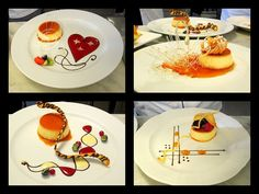 creme caramel plating - Google Search