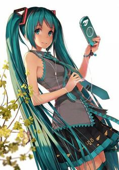 Miku the wonderful pop star { OMG, it's Yui as Miku! Now that's the version Volks should have done... }