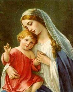 Virgen madre.