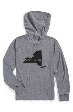Megan Lee Designs State Graphic Hoodie | Nordstrom