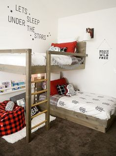 Dicas para decoração de quartos compartilhados – Beliches