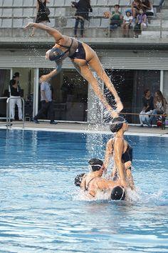 Synchronized Swimming...<3