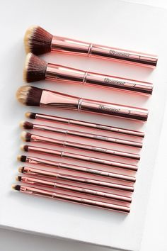 Slide View: 1: bh cosmetics 11 Piece Makeup Brush Set