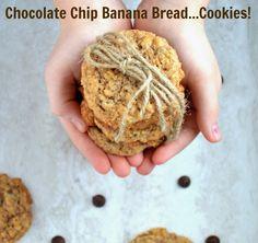 Amazing Chocolate Chip Banana Bread Cookies