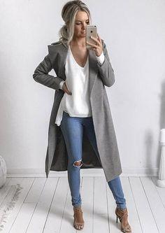 Harlem Coat - Grey