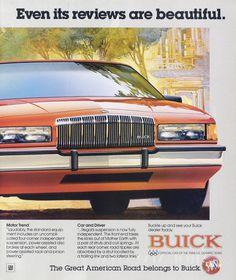 1988 Buick Regal Car Ad Vintage Automobile by AdVintageCom on Etsy