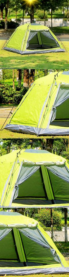 Tents 179010: Gazelle Pop Up Camping Hiking Instant Umbrella Tent Mesh Screen Double Layers -> BUY IT NOW ONLY: $33.75 on eBay!
