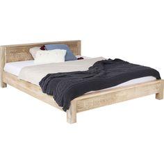 Massivholzbett Puro 160 x 200 cm KARE Design Kare Design, New Furniture, Bed Design, Betta, Modern, Toddler Bed, Interior Design, Bedroom, Color