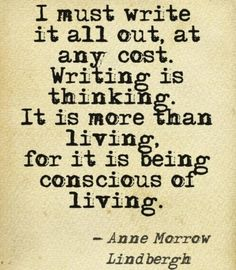 Are you conscious of living, of being Alive?