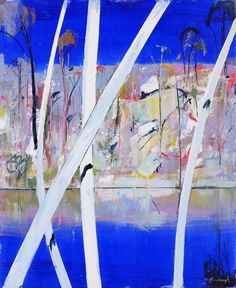 Shoalhaven by Arthur Boyd Australian Painting, Australian Artists, Abstract Landscape, Landscape Paintings, Arthur Boyd, Great Paintings, Modern Artists, Cool Artwork, Painting Inspiration