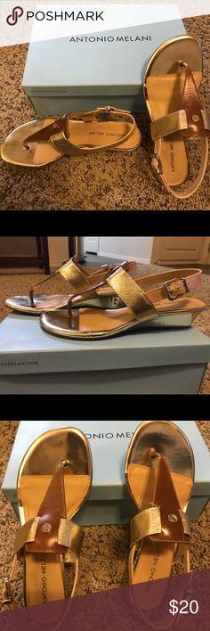 New Antonio Melani size 7 sandals Brand new Antonio Melani size 7 sandals ANTONIO MELANI Shoes Sandals
