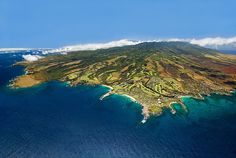 Cool Aerial View of Kapalua, Maui