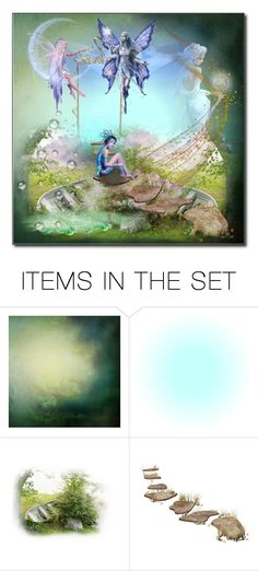 """""""The wonder world"""" by stilealan ❤ liked on Polyvore featuring art"""