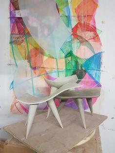 Hat, Ceramics, Drawings, Painting, Furniture, Home Decor, Chip Hat, Ceramica, Homemade Home Decor