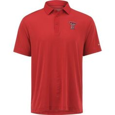Columbia Sportswear Men's Texas Tech University Omni-Wick Sunday Polo Shirt (Red, Size X Large) - NCAA Licensed Product, NCAA Men's Jersey/Polos at...