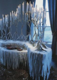 Decoration Evenementielle, Decoration Vitrine, Winter Wonderland Theme, Winter Wonderland Christmas, Christmas And New Year, White Christmas, Mery Crismas, Silver Christmas Decorations, Yule Ball