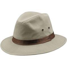 850fc9b812a Dorfman Pacific Men s Twill Safari Hat