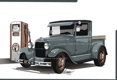 29 Ford PU truck