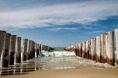 Golfbrekers op het strand van Domburg Landscape Photography, Nature Photography, Holland, Beach Landscape, Dom, Under The Sea, Seaside, Serenity, Netherlands
