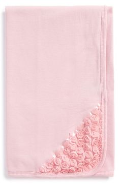 Little Me Rosette Lace Receiving Blanket available at #Nordstrom
