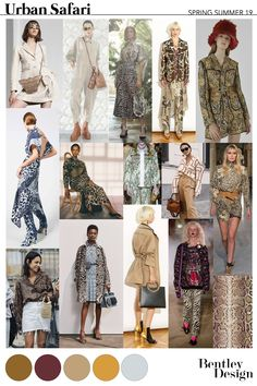 Freelance Fashion Designer - SS19 URBAN SAFARI