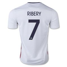 2015 Franck Ribéry Away Soccer Jersey Adult Size Small Medium Large Extra Large Youth Size Youth Extra Small to 6 Year Old.) Youth Small to 8 Year Old.) Youth Medium to 10 Year Old.) Youth Large to 12 Year Old. Euro 2016 France, Soccer Shirts, Soccer Jerseys, T Shirt, Sweatshirt, 8 Year Olds, Football, France, American Football