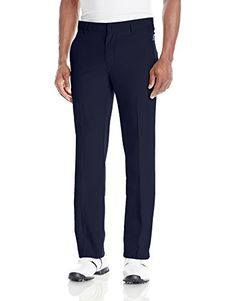 adidas Golf Men's Climalite 3-Stripes Pants, Navy, 36 x 32 - http://golf.shopping-craze.com/index.php/2016/04/09/adidas-golf-mens-climalite-3-stripes-pants-navy-36-x-32/