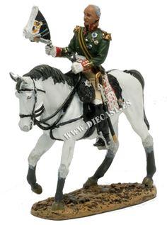 Mikhail Koutouzov, Mariscal de Campo, Rusia 1812, 1:30, Del Prado