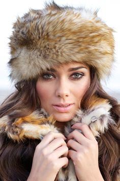 adf088d82b5 IMPOSTER Fur Women s Russian Hat in Raccoon - 100% Animal Friendly Russian  Hat