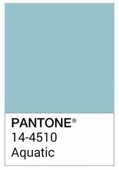 Hoy apetece el #coloroftheday @pantone #colorinspires Aquatic