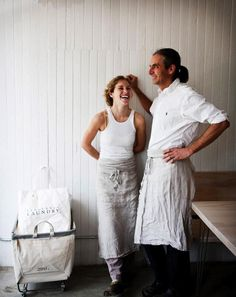 Julianne Jones and Didier Murat of Vergennes Laundry in Vermont