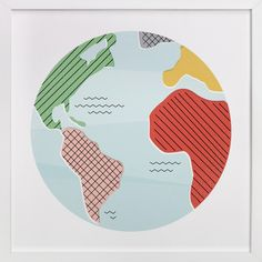 Wonderful World by Jessie Steury at minted.com
