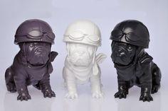 Sculpture chien Teo Jasmin