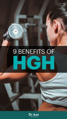 If you're a sports fan, you've probably heard of human growth hormone — more commonly known as HGH — and associate it with cheating and steroid use. Muscle Recovery Supplements, Hormone Supplements, Best Supplements, Hgh Injections, Human Nutrition, Dr Axe, Bodybuilding Supplements, Growth Hormone, Hormone Balancing