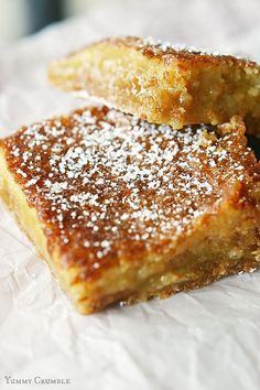 Eggnog Crack Pie Bars FoodBlogs.com