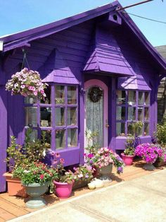 My dream cottage where I could make stained glass!  :-)