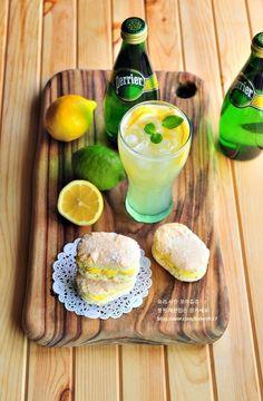 시원한 음료와 디저트,페리에 탄산수로 레몬에이드 만들기&다쿠아즈 레시피 : 네이버 블로그