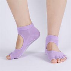 Fitness Backless Home Female Male Sports Non-slip Yoga Socks Women