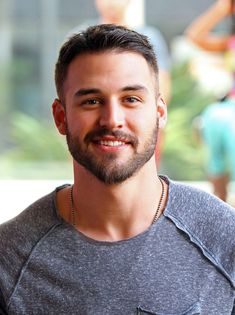 """"""" Smirk - Sexy men - Pin for Later: 15 Times Ryan Guzman& Flirty Smile Made You Giggle Like a School Girl The """"H - Handsome Faces, Handsome Boys, Handsome Bearded Men, Scruffy Men, Beautiful Men Faces, Gorgeous Men, Ryan Guzman, Hair And Beard Styles, Attractive Men"""