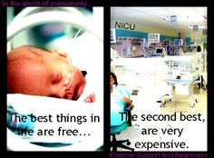After fertility meds and loss of income after months of being on complete bedrest, my sons are very expensive, and absolutely worth it! Just hoping that William stays in longer than predicted to avoid the extended NICU stay that his big brother experienced.