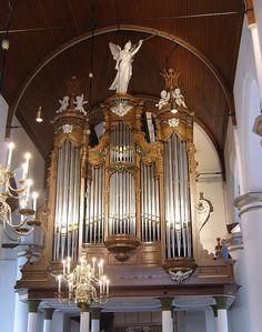 Asperen - Reformed Church, organ by pietbron, via Flickr