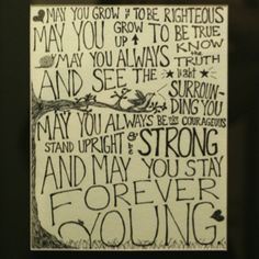Bob Dylan - Forever Young Favorite! More