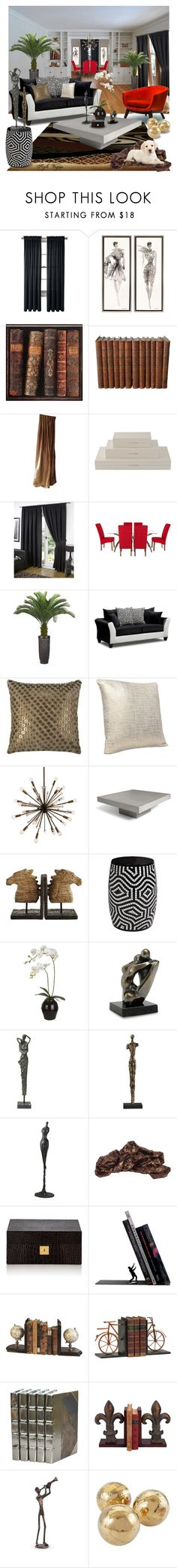 """""""Relaxed and warm space"""" by lamipaz ❤ liked on Polyvore featuring interior, interiors, interior design, home, home decor, interior decorating, Royal Velvet, Universal Lighting and Decor, Global Views and Laura Ashley"""