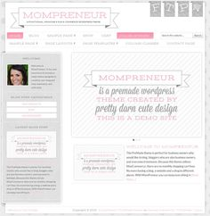 MomPreneur - Responsive WordPress Theme for Blogs and Ecommerce